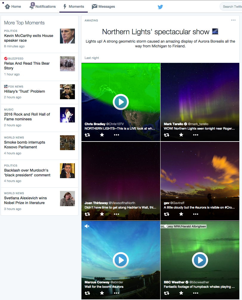 Twitter Moments Images & Video - Desktop screenshot