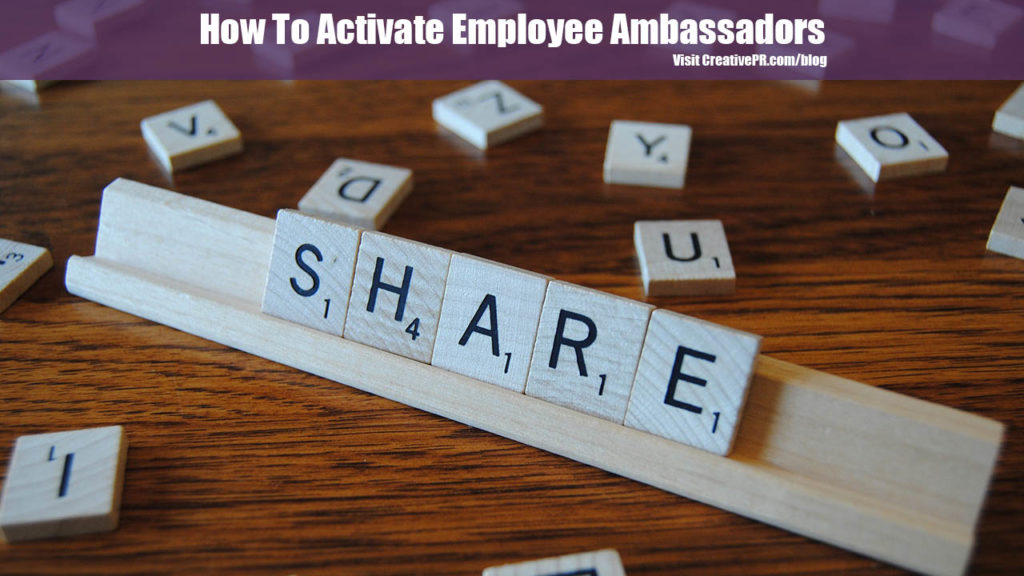 How To Activate Employee Ambassadors