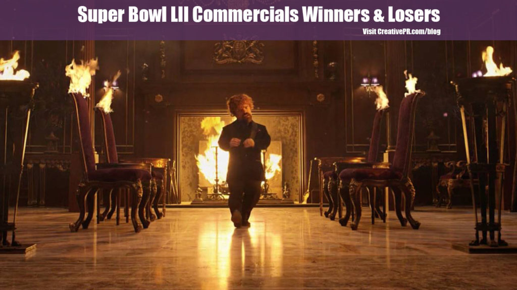 Super Bowl LII Commercials